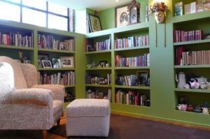 Sabbatical Home library