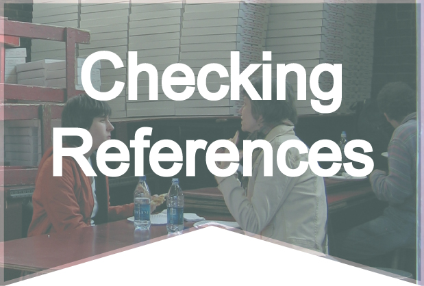 Checking References