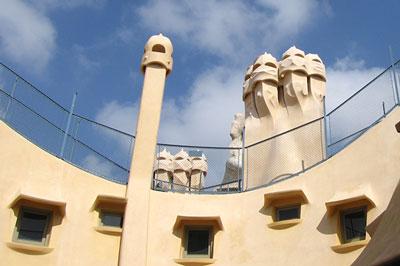 Antoni Gaudí in Barcelona, Catalonia, Spain