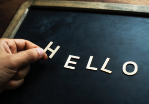 Greeting Phrase Section Image: Hello.