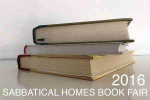 2016 Sabbatical Homes Book Fair