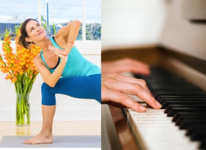 Learn on the Go: YogaAnytime.com Pianocub.com saltedtv.com