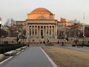 Member Spotlight: Suzann-Viola Renninger, Columbia University Visiting Scholar Image. Low Memorial Library at Sunset (Columbia's Morningside Heights campus)