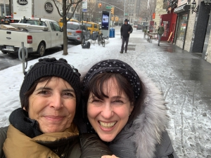Suzann-Viola Renninger and SH.com Founder Nadege Conger in New York