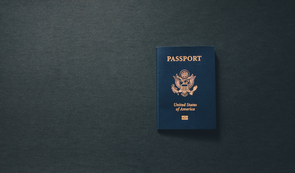 Can I have a copy of your passport Image- Photo of an American Passport.