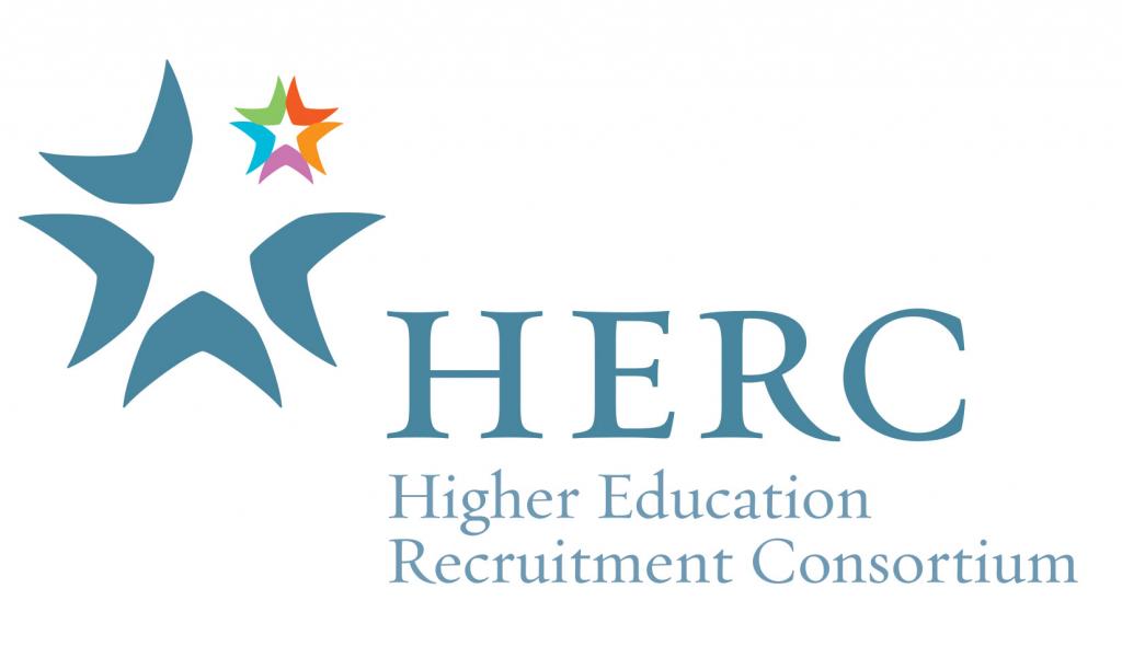 Logo for Higher Education Recruitment Consortium (HERC)