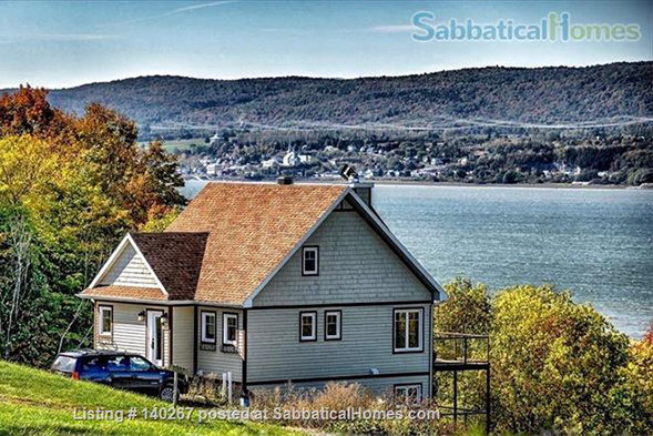 La Maison Laurentienne in Quebec, a country house near the St. Lawrence River. SabbaticalHomes.com Listing 140267.