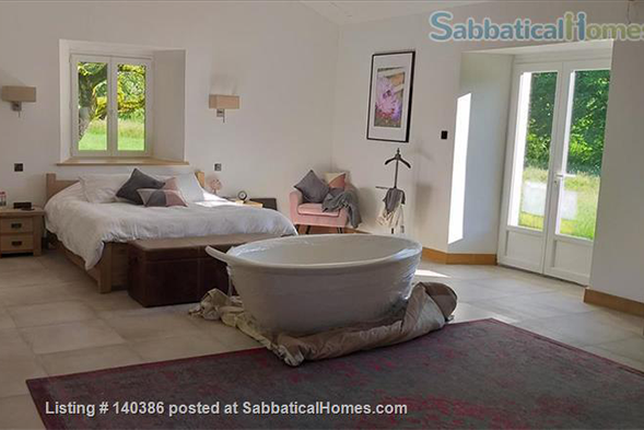 A bright and welcoming home in Valeuil, France. SabbaticalHomes.com Listing 140386.