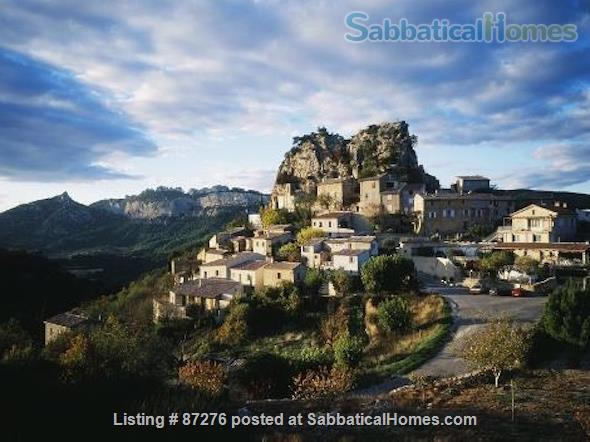 SabbaticalHomes Listing #87276 in Provence, France.  A home that is rustic, artsy and close to nature.