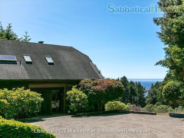 SabbaticalHomes.com Listing #142038. The Rookery at Sea Ranch near Mendocino, California.