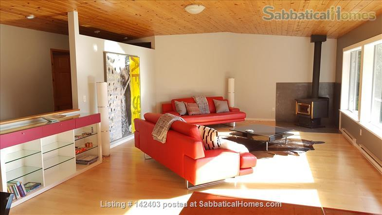 SabbaticalHomes.com Listing #142403. Renovated cottage to reconnect with nature on Salt Spring Island, British Columbia, Canada.