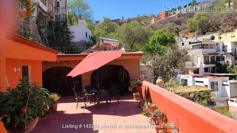 SabbaticalHomes.com Listing #143262. Casa Verde in Guanajuato, Mexico.
