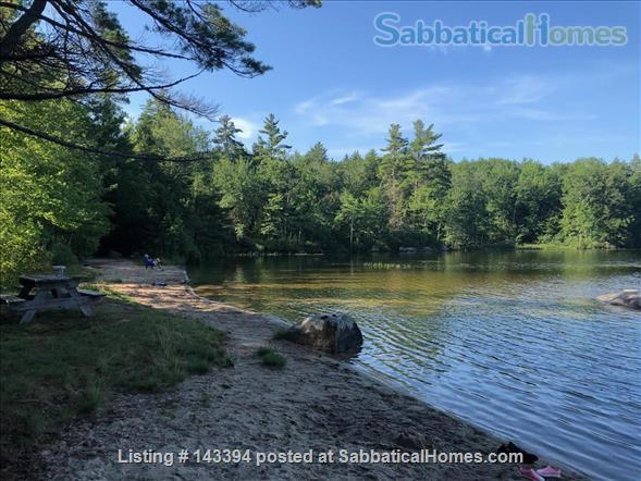 SabbaticalHomes.com Listing #143394. Cozy Cottage Apartment near White Mountains in Tamworth, New Hampshire