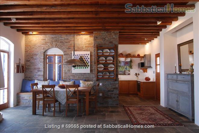 SabbaticalHomes.com Listing #69565. A Welcoming villa on the island of Sifnos in Greece.