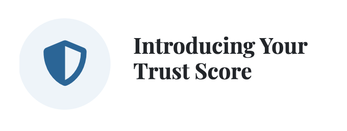 Trust Score icon on SabbaticalHomes.