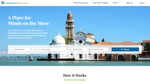 Searching for a home rental in Venice Italy on SabbaticalHomes.