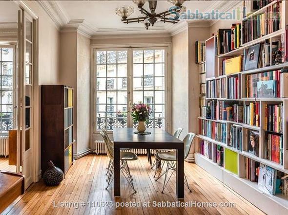 SabbaticalHomes.com Listing #110623 a flat for rent or exchange for summer and fall travel in Paris, France.